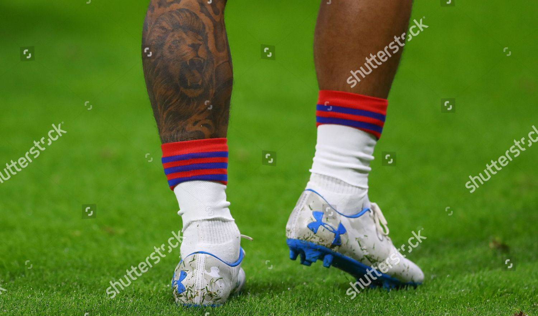 Tattoo Lion On Left Calf Memphis Depay Editorial Stock Photo Stock Image Shutterstock