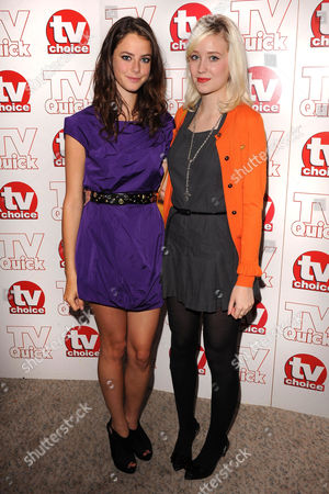 'Skins' cast members - Kaya Scodelario and Lily Loveless
