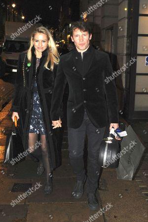 Sofia Wellesley and James Blunt