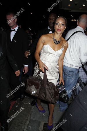 Stock Image of tv quick awards at the dorchester hotel 7-9-09 photographer/ james curley  Angela Griffin