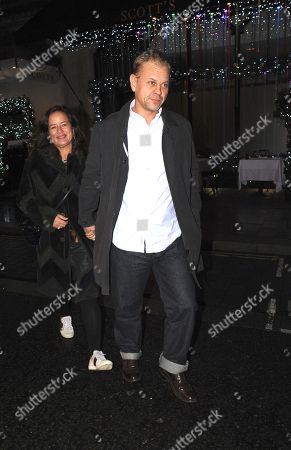 Editorial picture of Adrian Fillary and Jade Jagger out and about, London, UK - 27 Nov 2018