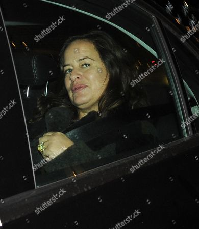 Jade Jagger at Scotts Restaurant