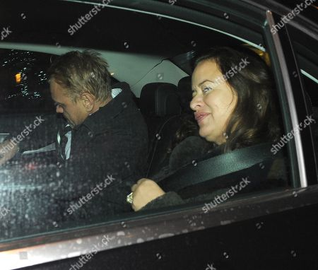 Editorial image of Adrian Fillary and Jade Jagger out and about, London, UK - 27 Nov 2018