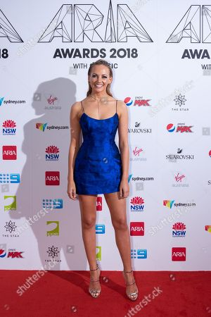 Editorial image of 32nd ARIA Awards, Arrivals, Sydney, Australia - 28 Nov 2018