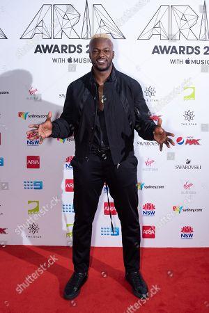 Editorial picture of 32nd ARIA Awards, Arrivals, Sydney, Australia - 28 Nov 2018