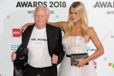 Stock Photo of Andrew Monk and Sophie Monk