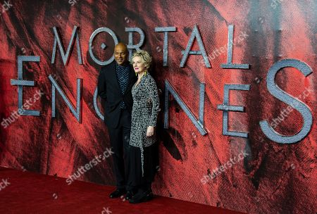 Editorial photo of 'Mortal Engines' film premiere, London, UK - 27 Nov 2018