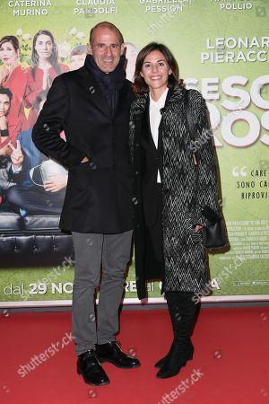 Editorial photo of 'Se son rose' film premiere, Rome, Italy - 27 Nov 2018