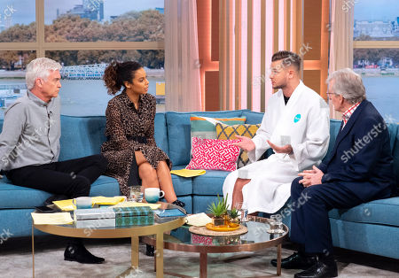 Phillip Schofield, Rochelle Humes, Chris Hughes and Dr Chris Steele