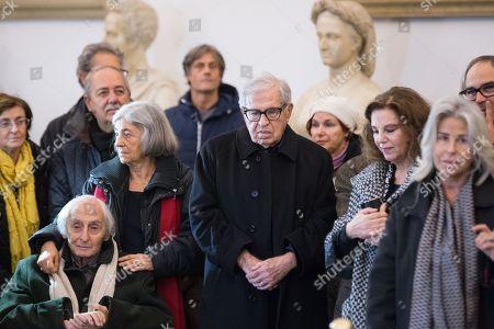 Citto Maselli, Paolo Taviani and Stefania Sandrelli
