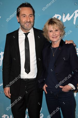 Stock Picture of Gilles Lellouche and Miou-Miou