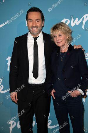 Gilles Lellouche and Miou-Miou