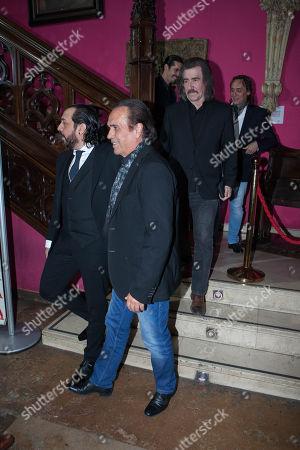 Pepe de Lucia, Potito, Luis Cobos, Vicente Amigo