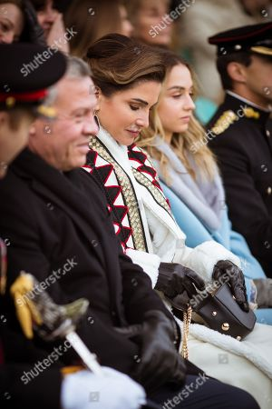 Editorial photo of Jordanian royals visit to the UK - 24 Nov 2018