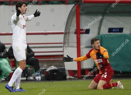 Editorial picture of Lokomotiv Moscow vs Galatasaray, Russian Federation - 28 Nov 2018