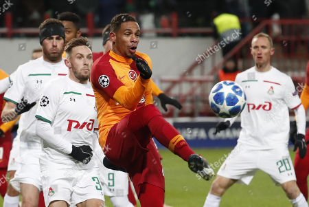 Editorial image of Lokomotiv Moscow vs Galatasaray, Russian Federation - 28 Nov 2018