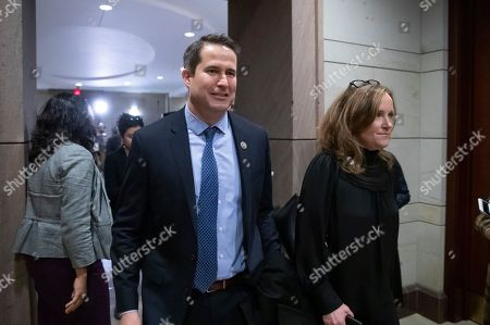 Seth Moulton, Kathleen Rice. Rep. Seth Moulton D-Mass., and Rep. Kathleen Rice, D-N.Y., who led the opposition against House Democratic Leader Nancy Pelosi of California for House speaker, arrive for the Democratic Caucus leadership elections at the Capitol in Washington