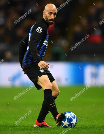 Borja Valero of Internazionale
