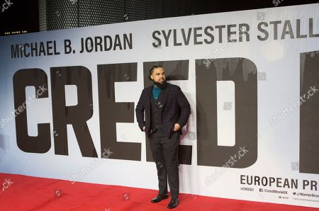Steven Caple Jr arrives at the European premiere of 'Creed II' at Waterloo's BFI IMAX in Central London, Britain, 28 November 2018. The Creed sequel is a continuation of the classic Rocky films and is released across British cinemas on 30 November.
