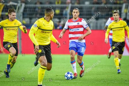 Football : Germany - Champions League 2018/2019 Borussia Dortmund  Vs FC Brügge  28.11.2018-  Sofyan Amrabat (FC Brügge) in Aktion    -