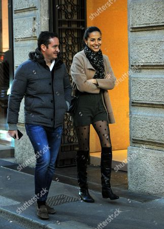 Fabio Cattaneo and wife Laura Barriales