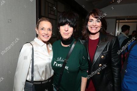 Stock Photo of Lili Fini Zanuck, Diane Warren and Cynthia Sikes