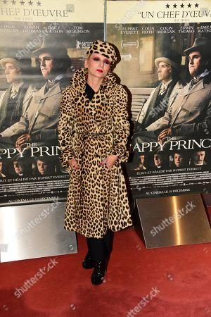 Editorial image of 'The Happy Prince' film premiere, Paris, France - 28 Nov 2018