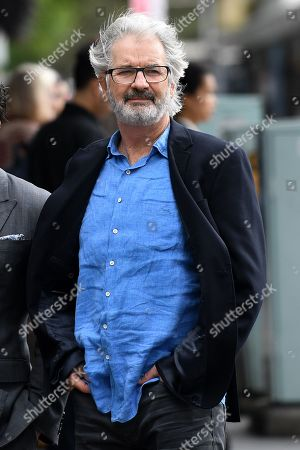 Australian actor, producer and film director John Jarratt arrives at the Downing Centre Local Court in Sydney, Australia, 29 November 2018. The actor is accused of a sexual assault in 1976.
