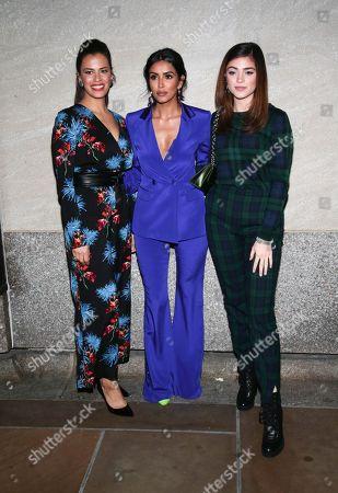 Athena Karkanis, Parveen Kaur, Luna Blaise