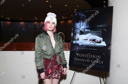 """Editorial photo of Special Influencer Screening of Screen Gems """"The Possession of Hannah Grace"""", Los Angeles, USA - 28 Nov 2018"""