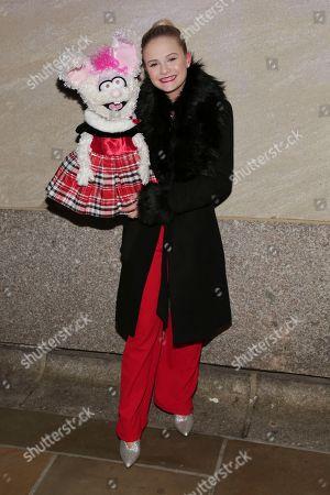Darci Lynne Farmer attends the 86th annual Rockefeller Center Christmas Tree Lighting Ceremony, in New York