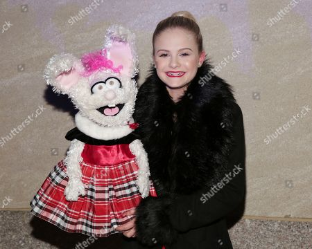 Stock Picture of Darci Lynne Farmer attends the 86th annual Rockefeller Center Christmas Tree Lighting Ceremony, in New York