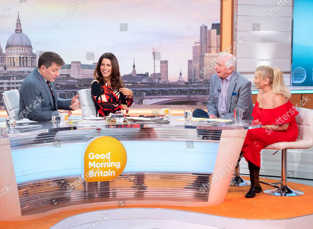 Ben Shephard and Susanna Reid with Johnny Ball and Tina Malone