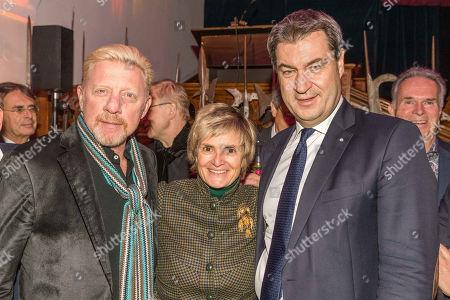 Boris Becker, Gloria von Thurn und Taxis, Markus Soeder