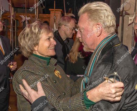 Gloria von Thurn und Taxis, Boris Becker