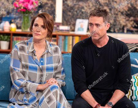 Sarah Parish and James Murray