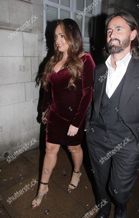 Tamara Ecclestone and Jay Rutland at 5 Hertford Street