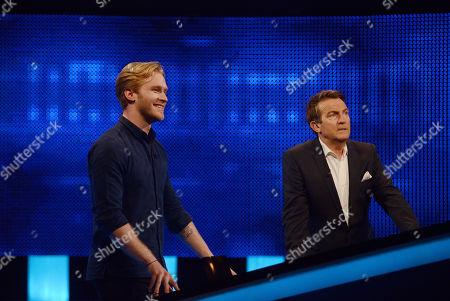 Jonnie Peacock and Bradley Walsh
