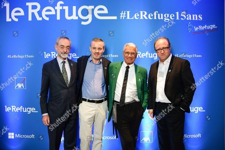 Jean-Jacques Augier, Emmanuel Pierrat, Jean-Marie Perier and Philippe Robinand.