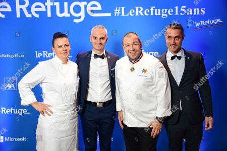 Marie Soria, Frederic Gal, Guillaume Gomez and Nicolas Noguier.