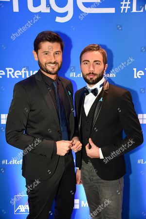 Christophe Beaugrand and Ghislain Gerin.