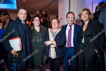 Emmanuel Gregoire, Emmanuelle Cosse, Florence Chopin-Genand, Jean-Luc Romero-Michel and Valerie Trierweiler.