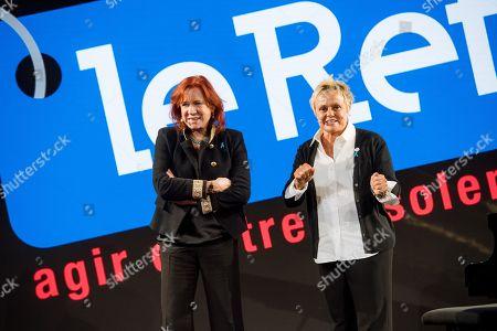 Eva Darlan and Muriel Robin.