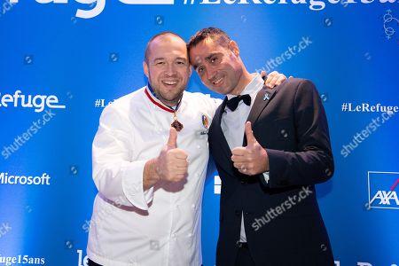Guillaume Gomez and Nicolas Noguier.