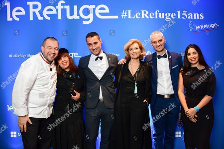 Editorial photo of Refuge gala, Paris, France - 27 Nov 2018