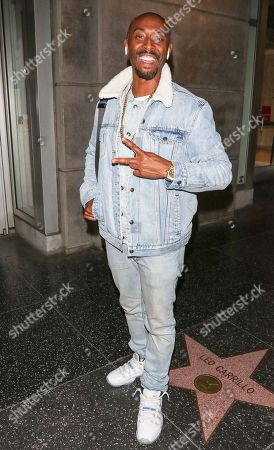 Editorial picture of Darris Love out and about, Los Angeles, USA - 28 Nov 2018