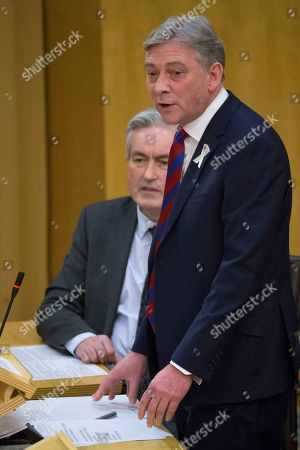 Scottish Parliament First Minister's Questions - Iain Gray and Richard Leonard, Leader of the Scottish Labour Party