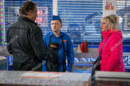 Ep 9637 Wednesday 12th December 2018 - 2nd Ep When Dev Alahan, as played by Jimmi Harkishin, threatens to get the police to interrogate Sinead, Chesney Brown, as played by Sam Aston, takes the rap for Beth Tinker, as played by Lisa George, and confesses to a shocked Dev and Cathy that he dreamed up the plan to fund Sinead's treatment. How will Dev react?