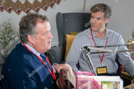Ep 9637 Wednesday 12th December 2018 - 2nd Ep Phil, as played by Tom Turner, makes a heartfelt apology to Brian Packham, as played by Peter Gunn, after being summoned to the headmistresses office, and Brian is confident things will now improve.
