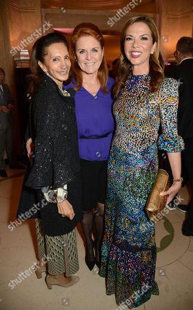Sarah Ferguson Duchess of York and Heather Kerzner